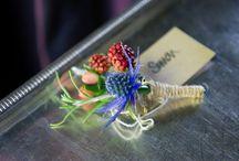 Buttonholes & Floral Headwear