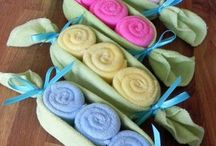 Baby Shower Gift Ideas / A collection of neat ideas for baby shower gift giving.