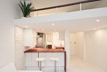 """Modern studio - yksiö / Modern renovation ideas for my """"buy and hold"""" rental apartments - yksiön remontti-ideoita omiin vuokra-asuntoihini"""