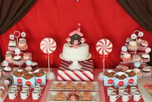Red & Aqua - PARTY / Inspiration for one of my favorite color palettes!  / by LBV Weddings
