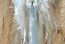 Anjel maľba