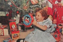 Vintage Christmas Photographs