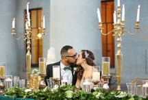 Emerald and Gold Styled Wedding Shoot