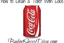 Using Coke to clean my toilet
