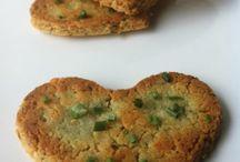 Slané sušenky bez mouky