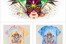 """NEW Mardi Gras Men's Cyclone & Spiral Tie-Dye T-Shirt / The Cost of a single Design $100.00 to $500.00, Your cost """"FREE on Zazzle""""why? because you don't have to pay for my services! Created in Corel Draw X7 One of a kind design from Digital Art Expressions Theme party? Fundraising? Need Ideas? One-of-a-kind designs. Images Can not be sold, reproduced or distributed without written permission of W. Campitelle Copyright 2005-2016 Info E-Mail to splasvegas@cox.net subject Comment or Suggestion. Thank you For Viewing. Bill"""