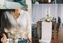 Melissa & Jeff / Touches of navy, teal, blush, ivory and gold for an antique and glamorous feel at Melissa & Jeff's Hotel Van Zandt summer wedding