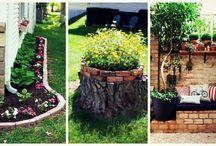 Διακόσμηση κήπου - Garden design ideas