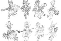 Sketches/Linearts