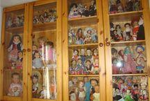 Частные коллекции винтажных и антикварных кукол