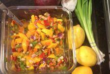 Mango salsa / Fresh homemade mango salsa