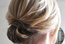 Raccolti capelli corti