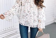 Outfit open shoulders blouse