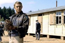 Steve McQueen (Hilts) Great Escape Leather Jacket / Buy Steve McQueen (Hilts 'The Cooler King') Great Escape Leather Jacket from the online store famousjackets.com and avail free shipment on every order over 200$.