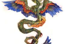 The Tree of Life and Cosmic Serpent / The allegorical dragon and the energy of the Earth.