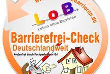 Deutschland macht den L.o.B.-Barrierefrei-Check - überall / Der L.o.B.-Barrierefrei.Check beinhaltet die Aufnahme des Ist-Zustandes eines Hauses in Bezug auf Barrierefreiheit sowie konkrete Empfehlungen für ein komfortabel-barrierefreies Wohn- und Lebensumfeld durch Fachleute in der Nähe.
