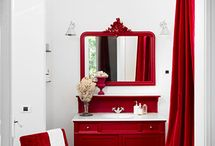 Seeing Red / We're seeing red in these beautiful décor pieces and rooms, just in time for Valentine's Day.