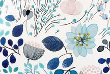 PATTERN : Florals / flowers, pattern, fabric