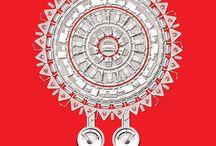 Exide Durga Puja 2014, Print Ad / #exide #ads #artdirections  #illustrations