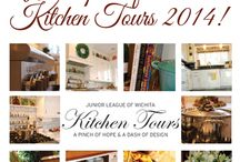 Kitchen Tours 2014 / We're really looking forward to sponsoring Junior League of Wichita's Kitchen Tours this year. If you haven't bought your tickets for the May 4th event, there's still time!  Enter to win here on Facebook by commenting below with your biggest Kitchen Challenge. We'll pick a random winner on Friday.  We'll also be giving away a pair of tickets on Twitter (https://twitter.com/kcdstudio) and Facebook (http://www.facebook.com/KitchenConceptsDesignStudio/) so follow us there to boost your chances!