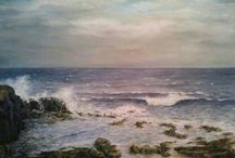 ART. JESUS OJEDA seascapes