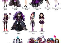 Ever After High versions