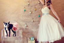 Sparkling Christmas Wedding Inspiration / Sparkling Christmas Wedding Inspiration