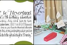 Jonah's 3rd Birthday Party - Peter Pan / by Caroline McCool
