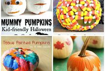 Non carved pumpkin