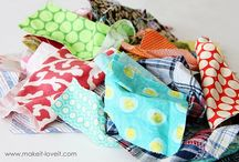 Fabric Scrap Projects / by Desiree P