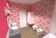 A Girl's Bathroom  |  Sintra ® 2014