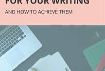 Goal-Setting and Planning for Writers