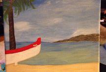 Artwork / KCRienzi canvas paintings