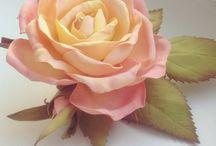 [Цветочные истории] / Украшения из цветов, сделанные мной. https://vk.com/histoiredesfleurs