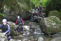 Descenso de barrancos Asturias - Barranco Vallegón / Descenso del barranco de Vallegón con Cangas Aventura