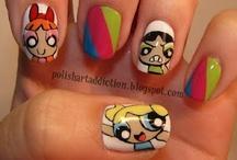 Nails and makeup and hair!!