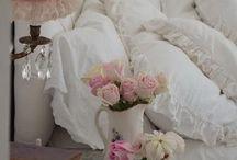 Shabby Chic-Schlafzimmer