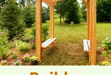 Spring Ready Gardens / Get your outdoor living and seating areas ready for Spring now with these DIY ideas / by Ron Hazelton