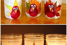 "Thanksgiving Decorations and Activities / Great ideas for decorating your home and your table before the big feast ... plus fun activities to keep the kids busy and help everyone have ""thankful"" fun together all day long!"
