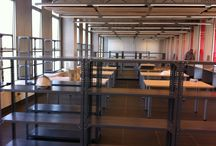 Construcción Biblioteca / Inicios de la Biblioteca