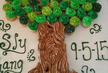 Family Tree/Reunion Cakes