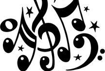 šablony-hudba