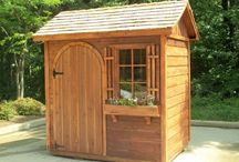 Ideas for the House : sheds / Ideas for sheds that my husband can build.