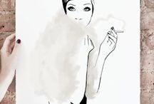 Art Prints and Posters / Art prints and posters available in garancedoregoods.com  / by Garance Doré