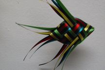 Плетение из подарочной ленты