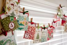 DIY Paper Craft Advent Calendars