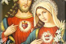 sagrado corazón inmaculado corazón