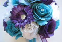 Silks are forever! / Beautiful Wedding silk flowers