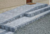 Steps + Ramps / Stunning steps can become an exciting focus around your home, with attention to detail the winning factor. There are many different ways to create a step detail using AG products. All our kerb types are available in attractive colours to complement or contrast with our full range of paving and flags.