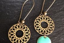 Earrings-boucles d'oreilles / by Vivi Fashionaddict